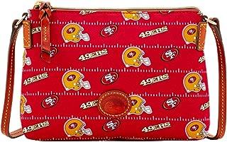 NFL San Francisco 49ers Crossbody Pouchette Red