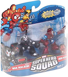 Marvel Superhero Squad Series 21 Mini 3 Inch Figure 2Pack War Machine Iron Patriot