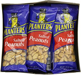 Planters Peanuts, Salted, 1.75-Ounce Bags (Pack of 48)