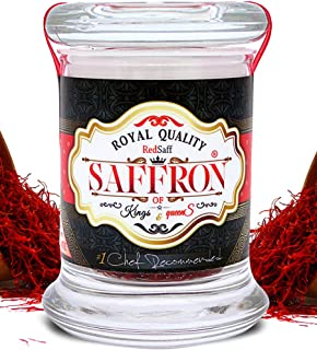 Redsaff Afghan Saffron Threads (Fresh Harvest) Professional Chef Grade Quality - Potent Saffron Spice For Cooking (3 grams)