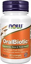 Now Foods, OralBiotic, 60 Pastillen | 1 Milliarde CFU Streptococcus salivarius K12 (BLIS K12)