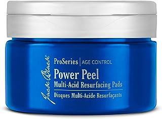JACK BLACK - Power Peel Multi-Acid Resurfacing Pads - ProSeries Age Control, with UGL Complex and Niacinamide, Exfoliates,...