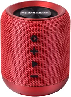 Promate HUMMER.RED Wireless Speaker, Portable 10W Bluetooth Speaker v4.2 with HD Sound Quality, Built-In Mic, FM Radio, Mi...