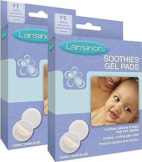 Lansinoh Soothies Gel Pads (2 Pack, 2 Ct. Each)