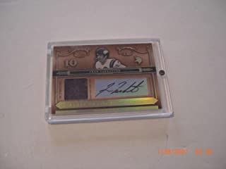 Fran Tarkenton 2006 National Treasures Game Used Jersey Auto 5/25 Signed Card - Football Game Used Cards