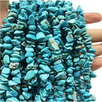 Turquoise Gemstone Embellishment Pcs Small Undrilled Natural Mini Chips 150g