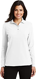 Best white long sleeve polo shirt womens Reviews