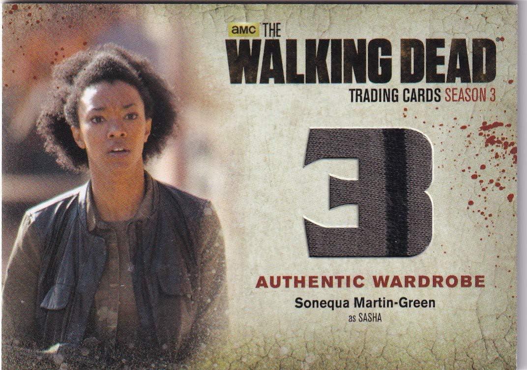 Walking Dead cryptozoic 2014 All stores are sold Fort Worth Mall Wardrobe Sasha Martin-Green Sonequa