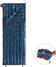 Naturehike 1.28lbs Ultralight 800 Fill Power Goose Down Sleeping Bag - Ultra Compact Down Filled Lightweight Backpack Envelope Sleeping Bag for Hiking Camping