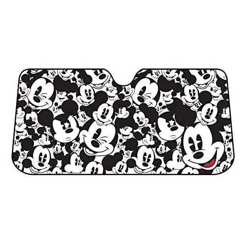 Plasticolor 003689R01 Mickey Mouse Expressions Windshield Sunshade 3f94d4284eb