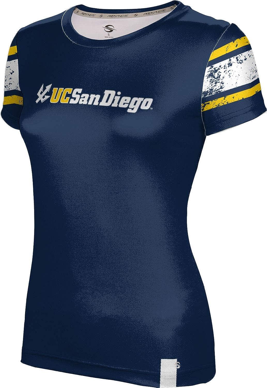 University of California, San Diego Girls' Performance T-Shirt (End Zone)