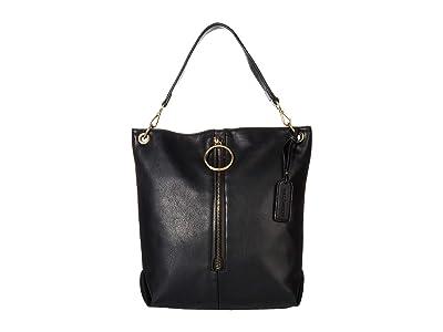 SOLE / SOCIETY Dayne Hobo (Black) Handbags