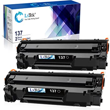 LxTek Compatible Toner Cartridge replacement for Canon 137 CRG137 9435B001AA to use with ImageClass D570 LBP151dw MF232w MF236n MF216N MF227dw,2 Black