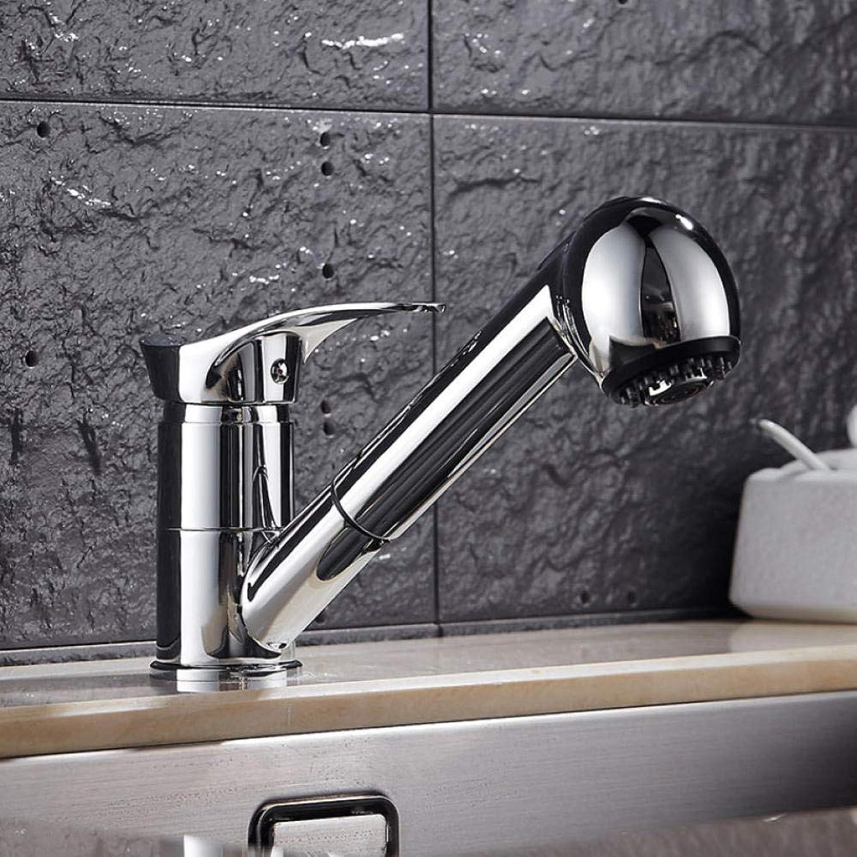 Lddpl Wasserhahn Badarmaturen Einhand-Ausziehbatterie Zwei Modi Multifunktionale 360-Grad-Wassermischer Mischbatterie