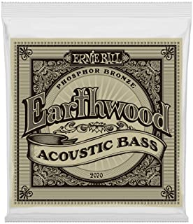 Best Ernie Ball Earthwood Phosphor Bronze Acoustic Bass Set .045 - .095 Review