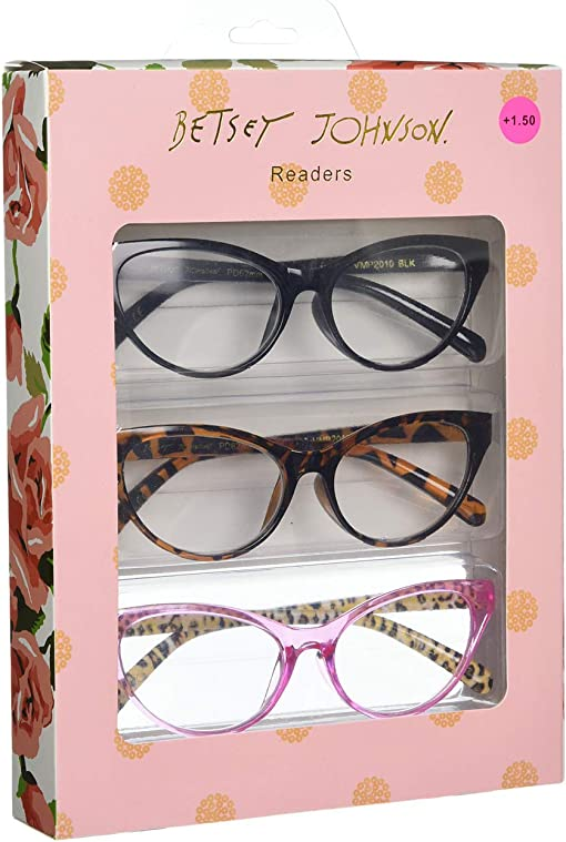 Black/Tortoise/Pink/Leopard