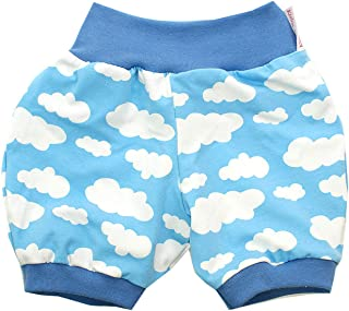 Kleine K/önige Kurze Pumphose Baby Jungen Shorts /· Modell /Äffchen Charly t/ürkis /· /Ökotex 100 Zertifiziert /· Gr/ö/ßen 50-152