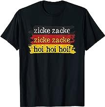 Zicke Zacke Hoi Hoi Hoi German Drinking Toast Oktoberfest T-Shirt