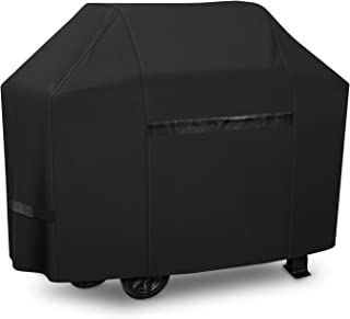 iCOVER Grill Cover- 82 Inch 600D Heavy-Duty Water Proof Patio Outdoor Black Canvas..