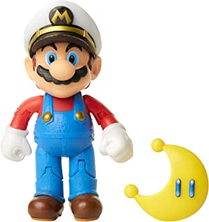 Captain Mario Red Power Moon (World Of Nintendo) Action Figure