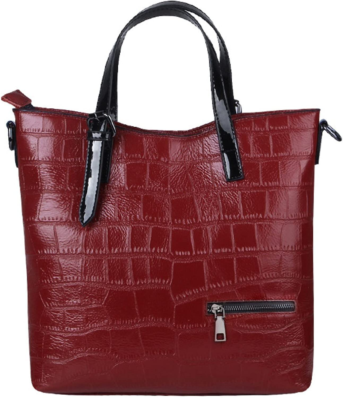 GKKXUE Mode Lederhandtasche Diagonal Paket Schulterbeutelhandtasche Einfach Wilde B074M5VVPP