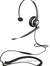 Linksys Cisco SPA Compatible Plantronics VoIP Direct Connect Wideband Headset Bundle HW291N (HW710) (Headset and Cisco Telephone Interface cable)