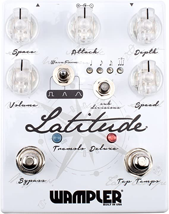 Wampler Latitude Deluxe V2 Tremol