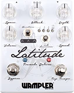 Wampler Latitude Deluxe V2 Tremolo Guitar Effects Pedal