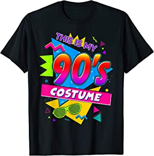 This Is My 90'S Costume Funny Party Wear Outfit T-Shirt