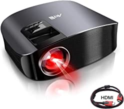"""Movie Projector - Artlii Full HD 1080P Support Projector, LED Projector with HiFi Stereo, Home Theater Projector w/ 250"""" P..."""