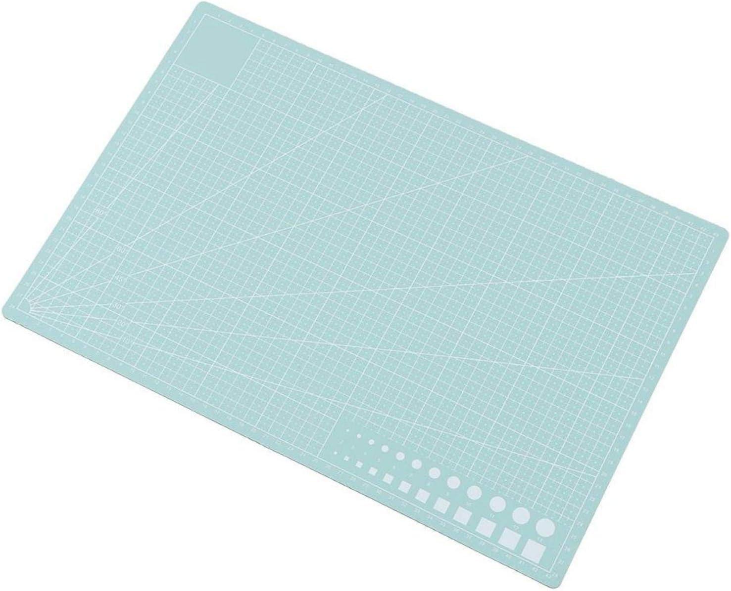 Un tapis de coupe de service de longue dur/ée tapis de coupe de lignes de grille auto-cicatrisantes A3 planche /à d/écouper parfaite pour les /étudiants black