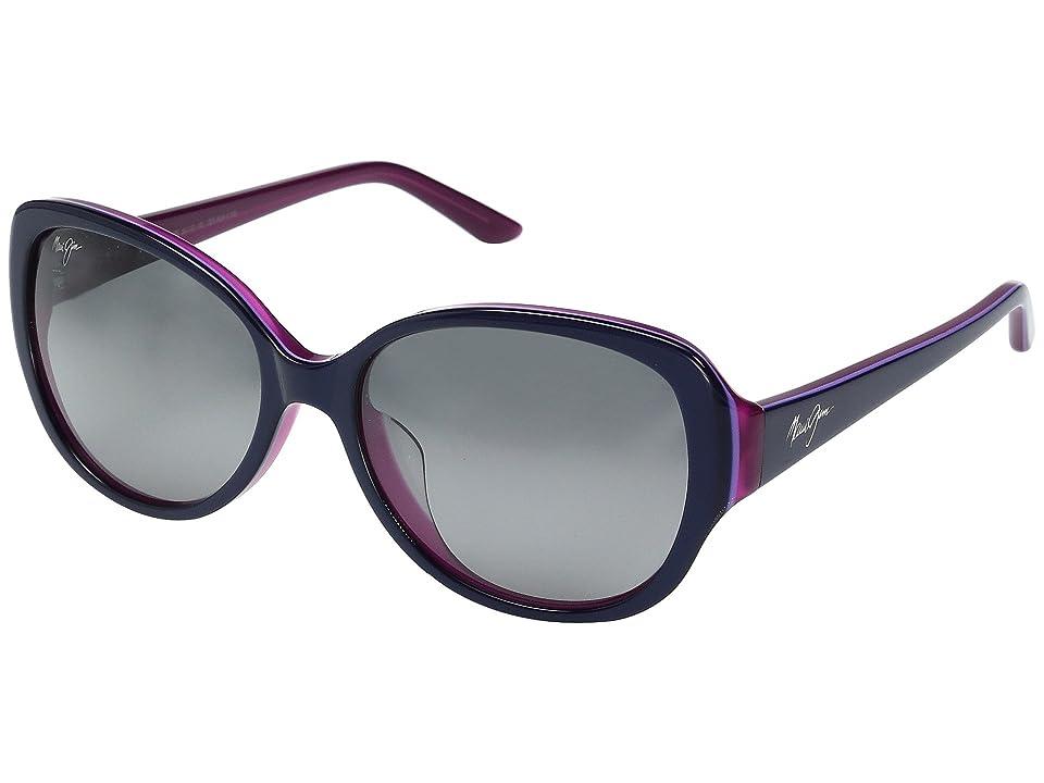 Maui Jim Swept Away (Blue with Raspberry/Neutral Grey) Fashion Sunglasses