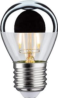 Paulmann 28384 Led Dropsy 2,5W E27 230V Głowica Lustrzana Srebrna Ciepła Biała Lampa Świetlna ,Lusterko Na Głowę Srebrny ,...