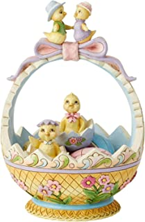 Enesco Jim Shore Heartwood Creek Easter Basket 14Th Annual