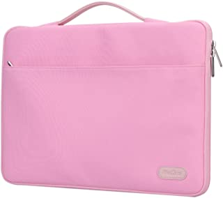 """ProCase 14-15.6 Inch Laptop Sleeve Case Protective Bag, Ultrabook Notebook Carrying Case Handbag for MacBook Pro 16"""" / 14"""" 15"""" 15.6"""" Dell Lenovo HP Asus Acer Samsung Sony Chromebook Computer -Pink"""