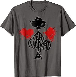 Alice in Wonderland Heart Club Diamond Spade Tee Shirt