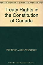 Treaty Rights in the Constitution of Canada