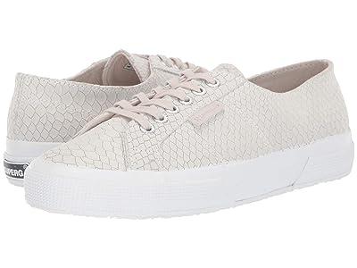 Superga 2750 Leasnakew Sneaker (Light Grey) Women