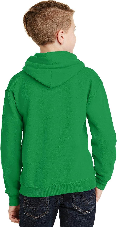 Heavy Blend Hooded Sweatshirt (G185B) Irish Green, S (Pack of 12)