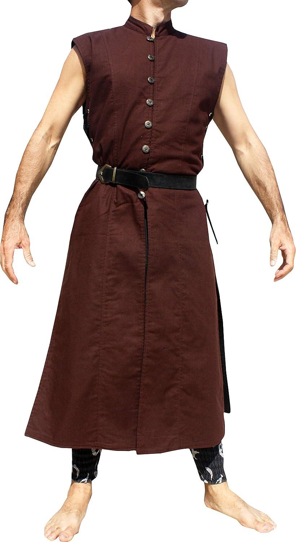 Svenine Long Kung Fu Vampire Renaissance Festival Medieval Ruthless Jacket Shirt