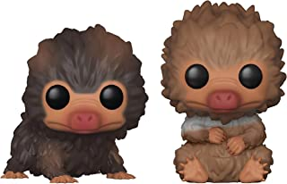 Funko Pop! Fantastic Beasts 2: The Crimes of Grindelwald - Baby Niffler Vinyl Figure 2-Pack (Includes Compatible Pop Box Protector Case)