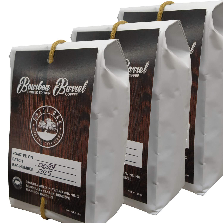 Organic Virginia Beach Mall Bourbon Max 72% OFF Barrel Roasted Coffee Limited 10oz Editio Beans