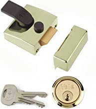 Yale Locks P85 Deadlocking Nightlatch Brasslux
