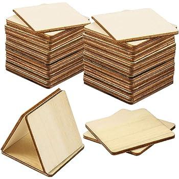 Pack mit:10 St/ück H/öhe x Breite:10x5cm 2x1cm 60x30cm Streudeko Basteln Deko Tischdeko Ovale Holzscheiben Holz Platten
