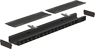 Standartpark - 4 inch trench drain system cast iron package slotted - 2.2