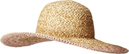 PBL3203 - Paper Straw Hat with Crotchet Brim