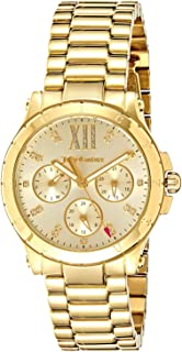 Juicy Couture Women's Gold Dial Stainless Steel Band Watch - 1901589