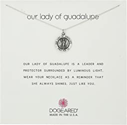 Dogeared - Our Lady Guadalupe Coin Necklace