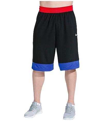 Nike Dry Icon Shorts (Black/Game Royal/White) Men