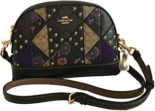 Coach Mixed Patchwork Leather Dome Crossbody Purse - #F76672